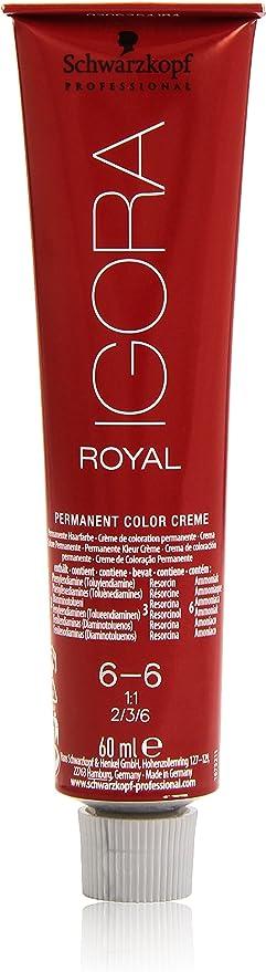 Schwarzkopf Professional Igora Royal 6-6 Tinte - 60 ml