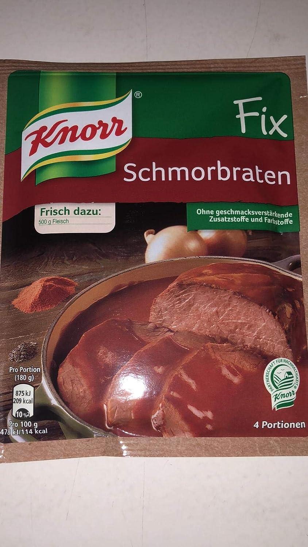 Knorr Fix pork roast (Schmorbraten) (Pack of 4)