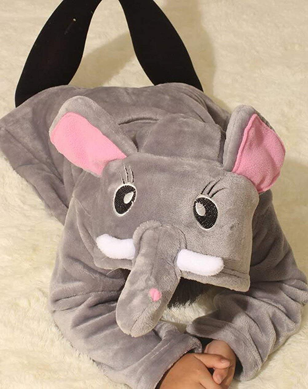 Boys Girls Bathrobes,Toddler Kids Hooded Robe,Animal Pajamas Bathrobe Sleepwear for Girls Kids