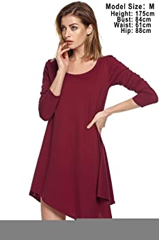 e9afc8b896d Amazon.com  Kindsells Long Blouses for Leggings Tunics for Women to ...