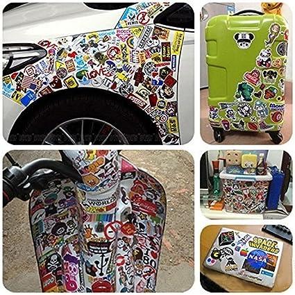 Rubik Cube Luggage Skateboard Guitar Scooter Fridge Car Vinyl Decal Sticker