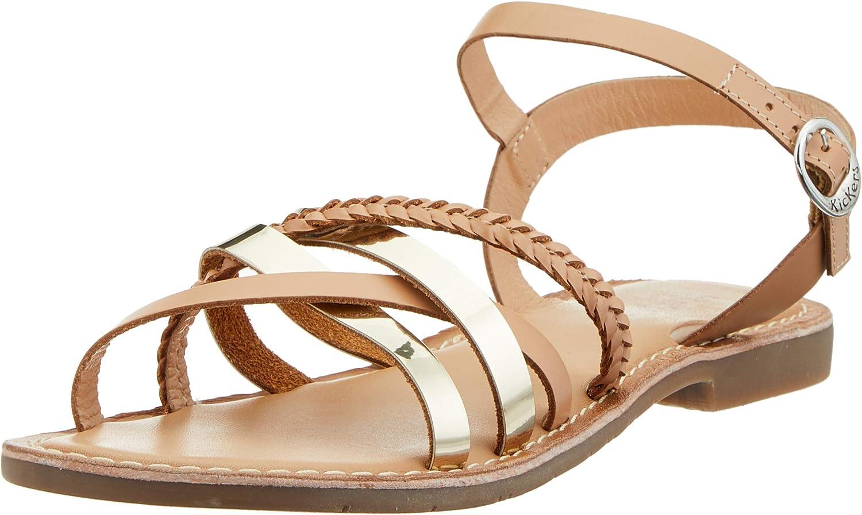 Kickers Women's Heels Elegant Sandals Toe Open Denver Mall