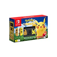 Nintendo Switch Pikachu & Eevee Edition + Pokemon Let's Go Pikachu! + Pokeball Plus