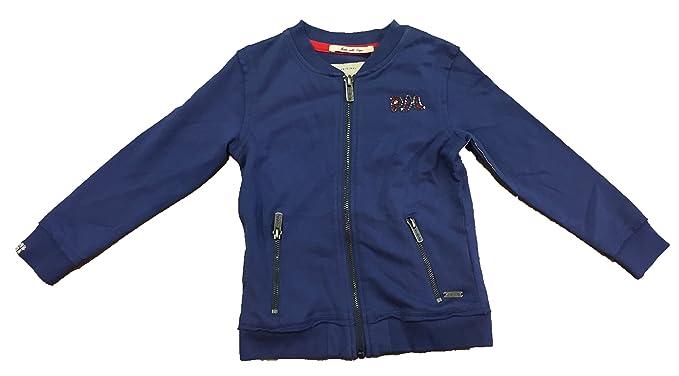Pepe Jeans, Sudadera Con Cremallera, Modelo Fabia, Niña, Color Azul, Talla 4: Amazon.es: Ropa y accesorios