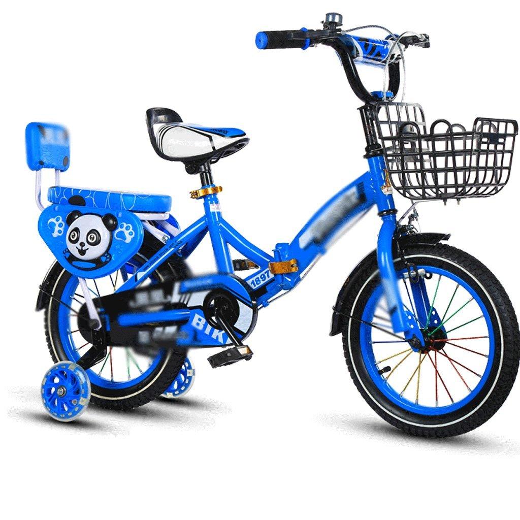 自転車 折りたたみ子供用自転車2-4-6-7-8-9-10年老いたベビーボーイ (サイズ さいず : 18 inch) B07DZTFXR9 18 inch 18 inch