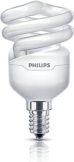 Philips Tornado Compact Fluorescent Spiral E14 Small Edison Screw Light Bulb 8 W (45  sc 1 st  Amazon UK & Philips Genie Low Energy Saving Light bulb 8w u0026 40W equivalent SES ... azcodes.com