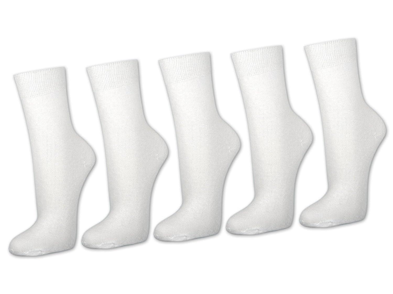 10 bis 60 Paar Damensocken 100% Baumwolle ohne Naht Business Damen Socken Schwarz - Sockenkauf24