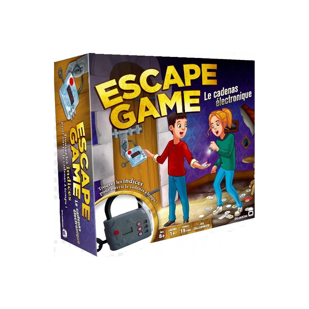 Le cadenas Électronique - Escape Game - Jeu de société -Dujardin