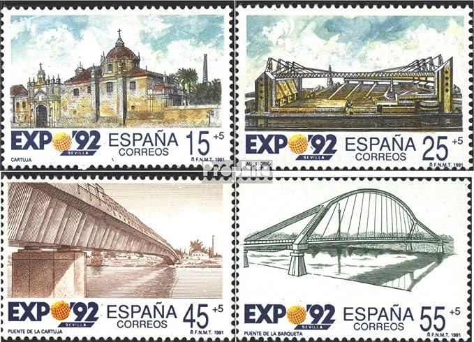 Prophila Collection España Michel.-No..: 2976-2979 (Completa.edición.) 1991 Expo`92 (Sellos para los coleccionistas): Amazon.es: Juguetes y juegos