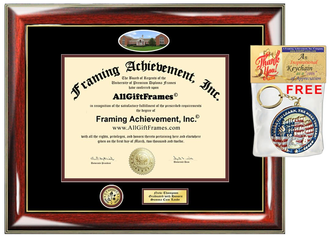 Amazon.com : UMUC Diploma Frame Campus Picture University of ...