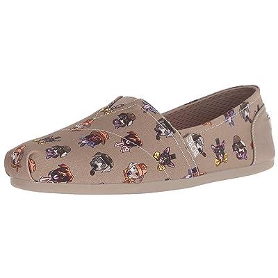 Skechers BOBS Women's Bobs Plush-Sherlock Hound Slip on Ballet Flat | Shoes