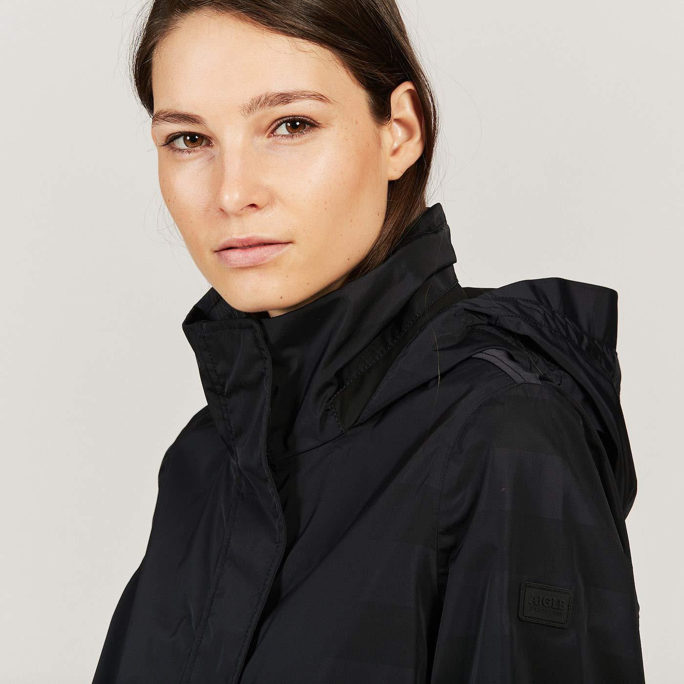 Aigle Acori Womens Jacket X Large Dark Navy: Amazon.co.uk