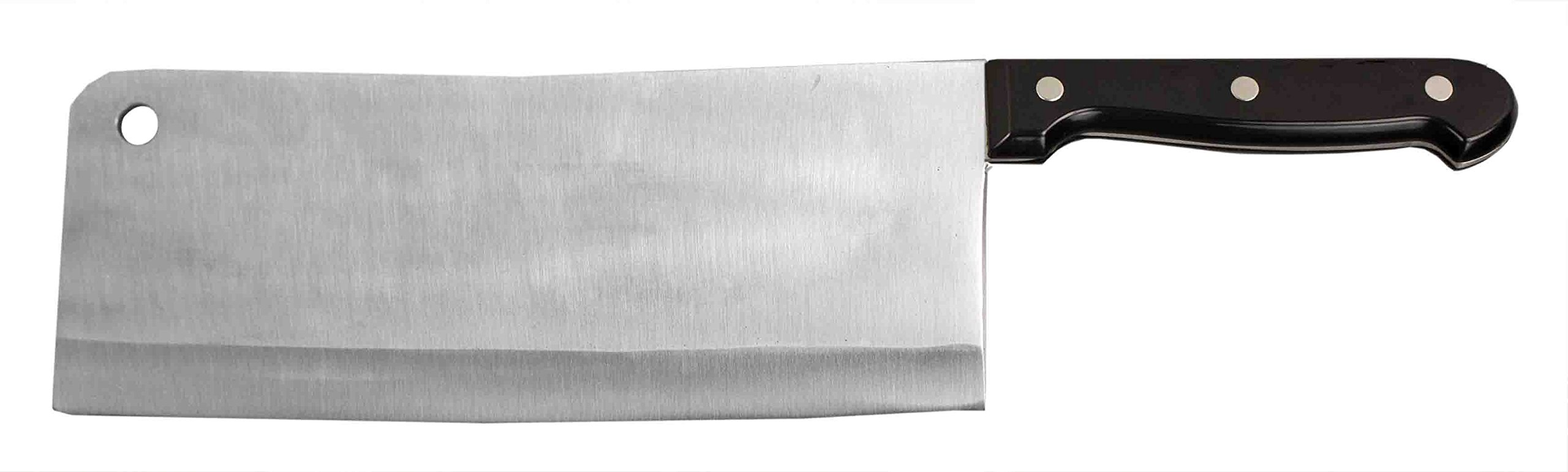 Home Basics 9'' Meat Chopper Cleaver with Stainless Steel Blade