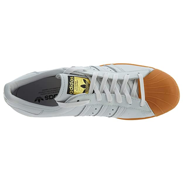 Originals Superstar 80s Dlx S Other Leather Material Trainers Whitetan
