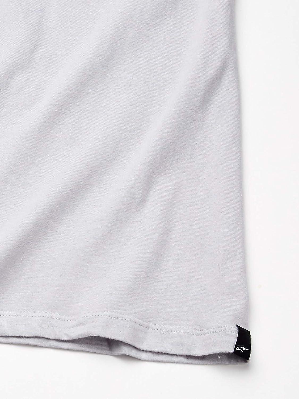 Alpinestars Men's Motorsports T-Shirts Modern Fit Short Sleeves Mx Blaze El Silver