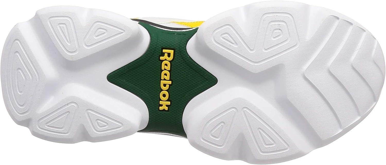 Reebok Royal Bridge 3, Chaussures de Running Compétition Mixte Adulte Multicolore White Green Yellow Black 000