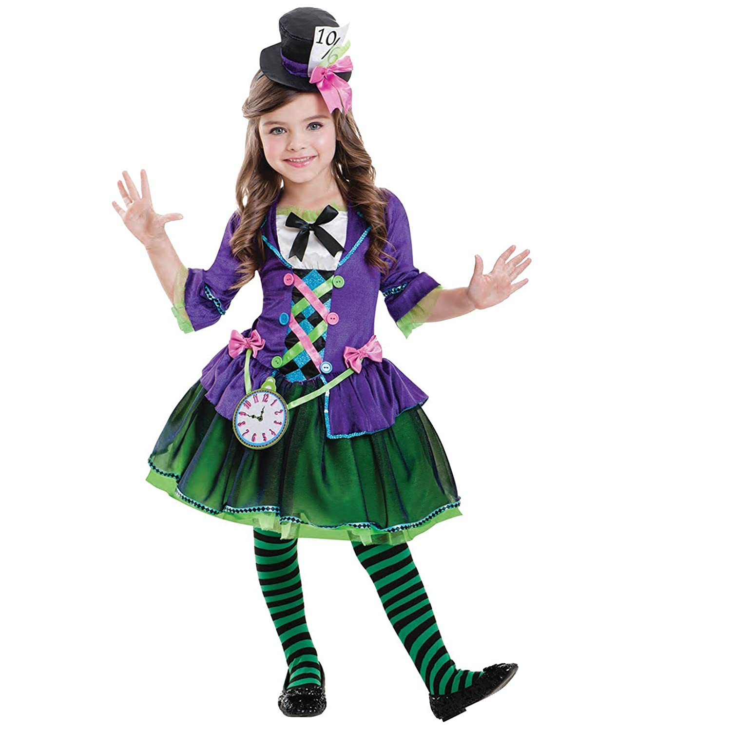 Bad Hatter Costume Age 5-6 Years