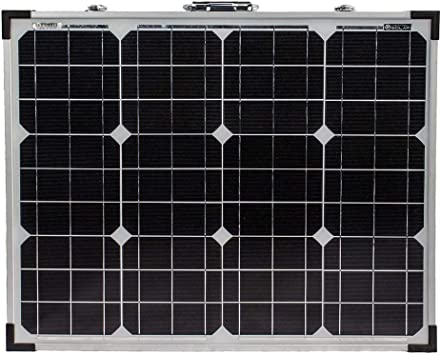 Amazon Com Mighty Max Battery 100w 12v Mono Foldable Solar Panel For Trucks 10a Controller Brand Product Electronics