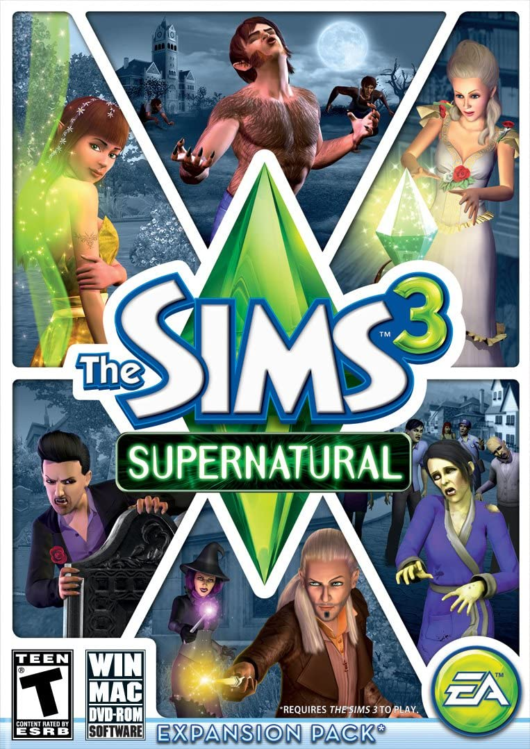 Amazon.com: The Sims 3 Supernatural: PC: Video Games