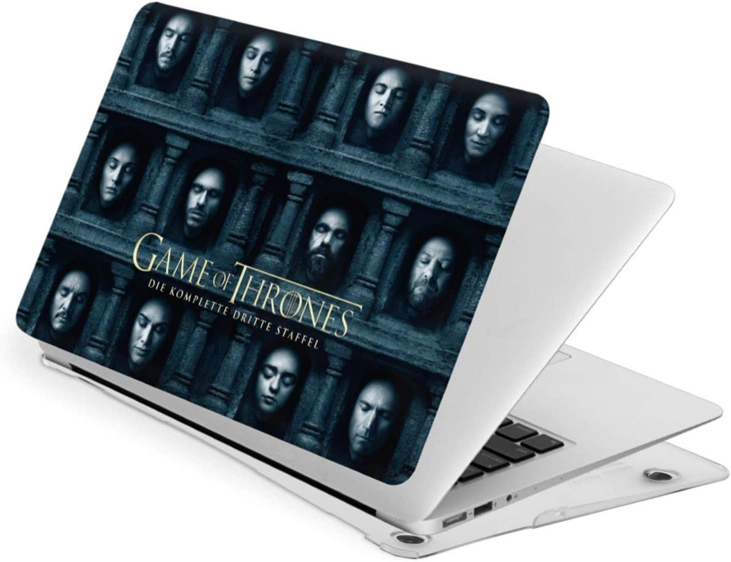 JHJHJ Game of Thrones Logo Laptop Case Fortouch13 Hard Case Shell Cover + A Keyboard Swipe The Quality of A Material is Frivolous,Good Heat Dissipation Performance