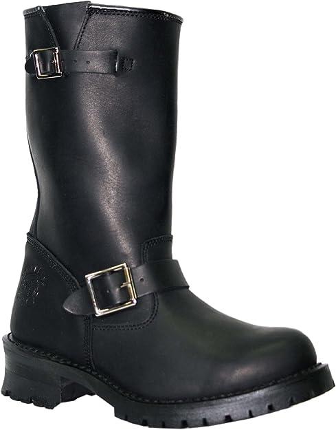 Grinders Turbo Black Mens Boots