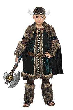 Disfraz Vikingo Green (5-6 AÑOS): Amazon.es: Juguetes y juegos