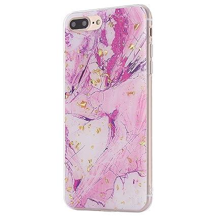 coque iphone 8 marbre blanc silicone