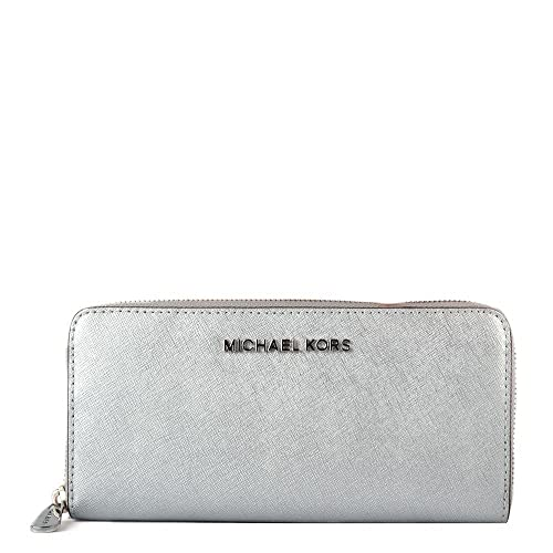 MICHAEL by Michael Kors Jet Set Monedero one size Plateado ...