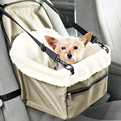 Dog Booster Seat Car For Small Dogs Pet