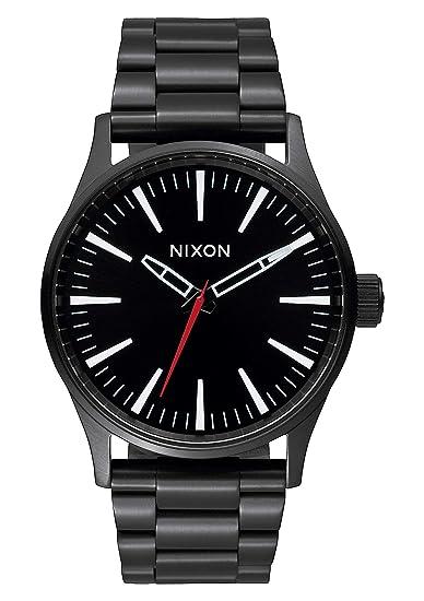 Nixon Reloj Analógico para Mujer de Cuarzo con Correa en Acero Inoxidable A450-005-00: Amazon.es: Relojes