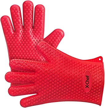 X-Chef Silicone Cooking Gloves