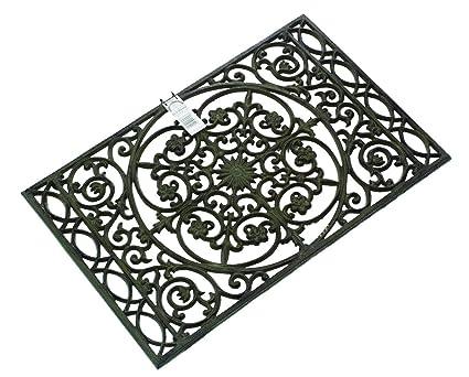 Gardman Chatsworth - Felpudo de hierro fundido, color negro: Amazon ...