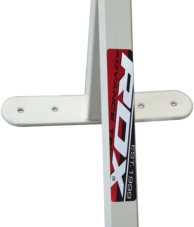 Aut/éntico Pull Up Bar RDX blanca barbilla con Bolsa de boxeo soporte montado en la pared Estaci/ón chinning