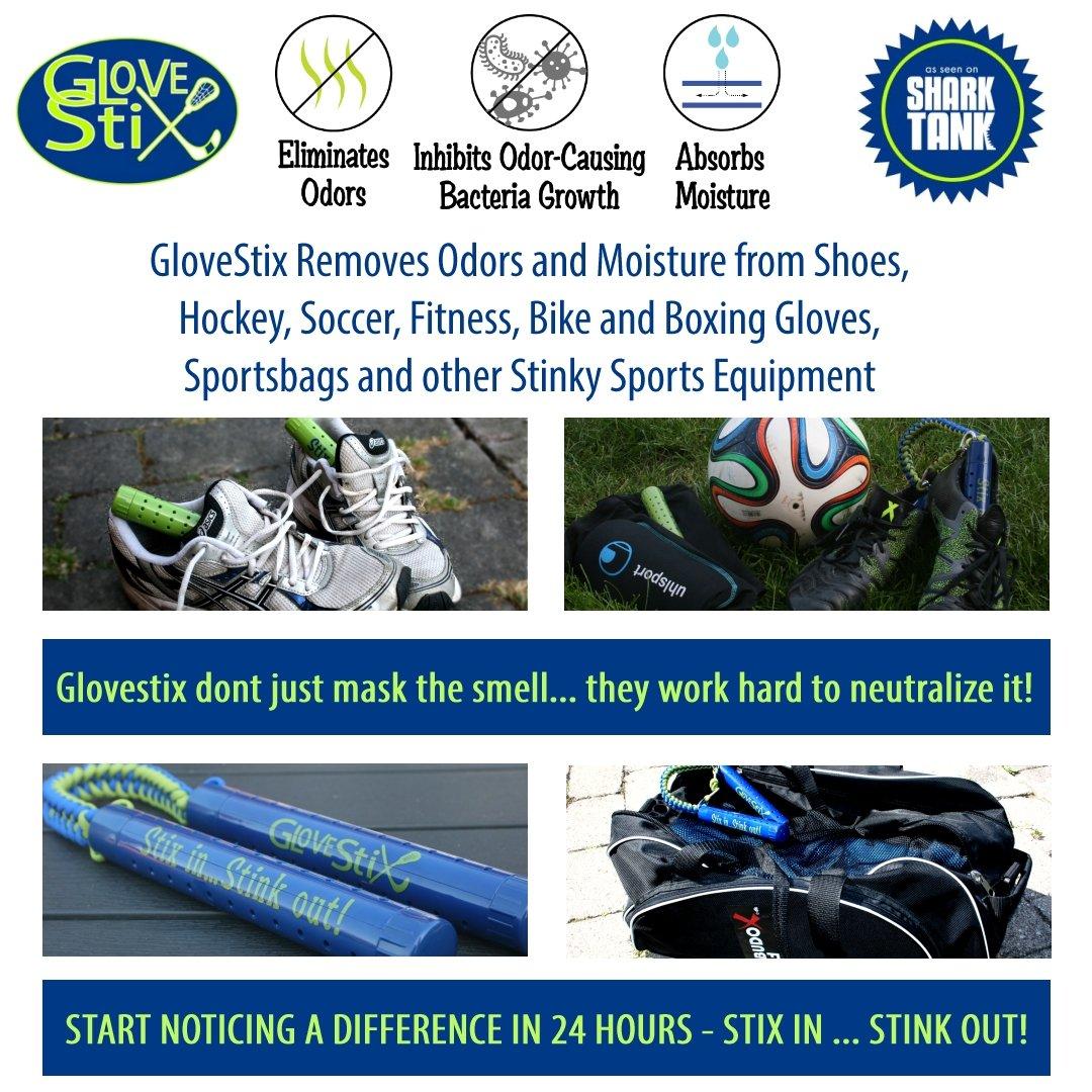 GloveStix Elimina los olores y la Humedad ☆ de Zapatos y ...