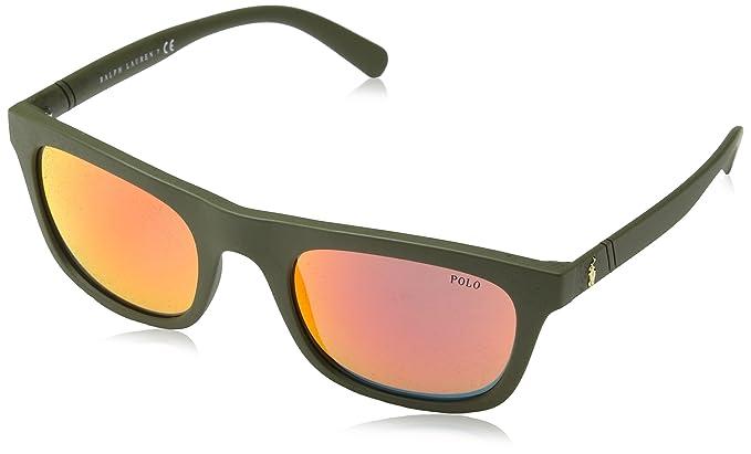 Ralph Lauren POLO 0PH4126 Gafas de sol, Matte Olive, 54 para ...
