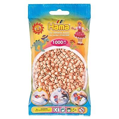 Hama 207-26 Beads - Flesh (1000 Midi Beads): Toys & Games