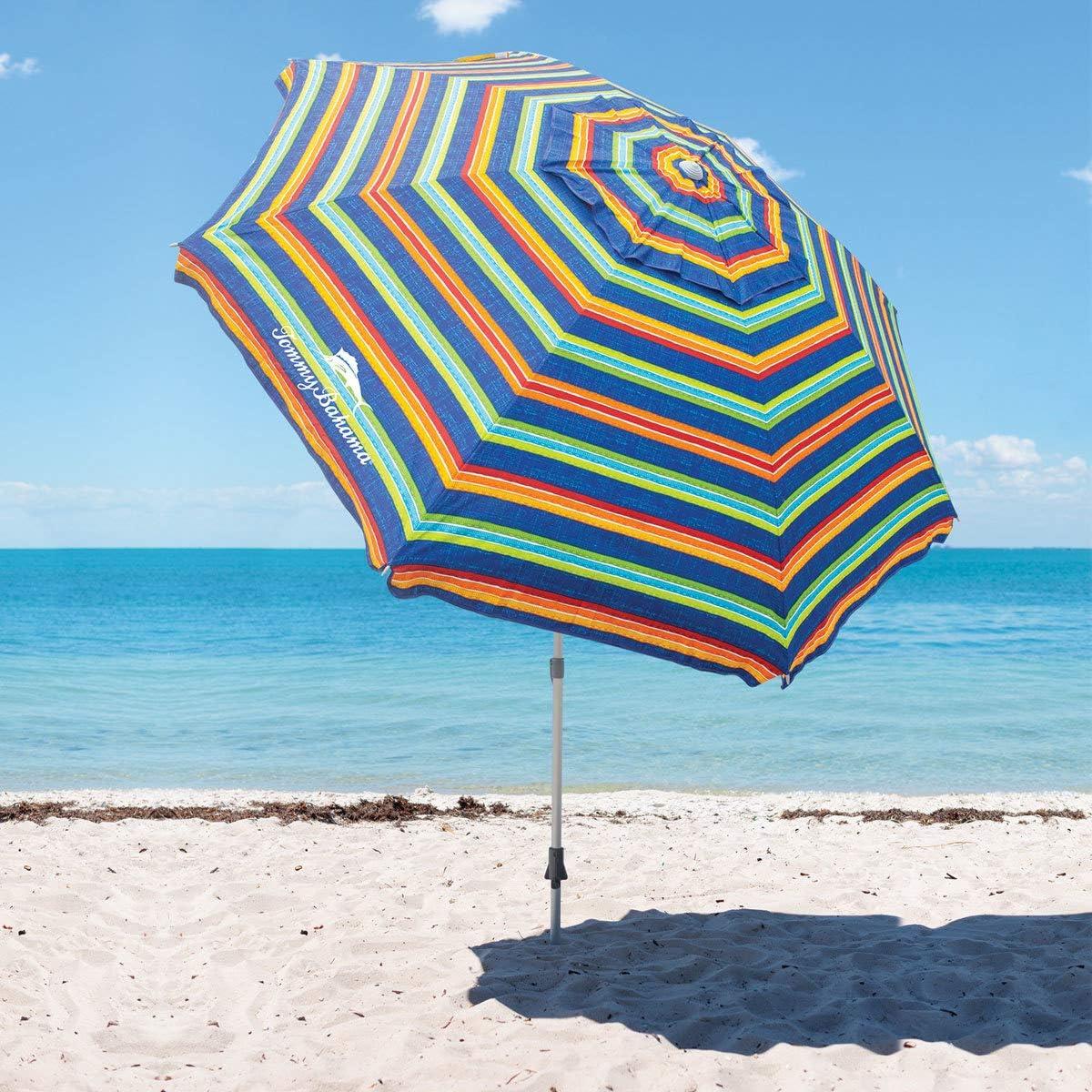 Tommy Bahama Beach Umbrella 2020 Stripe