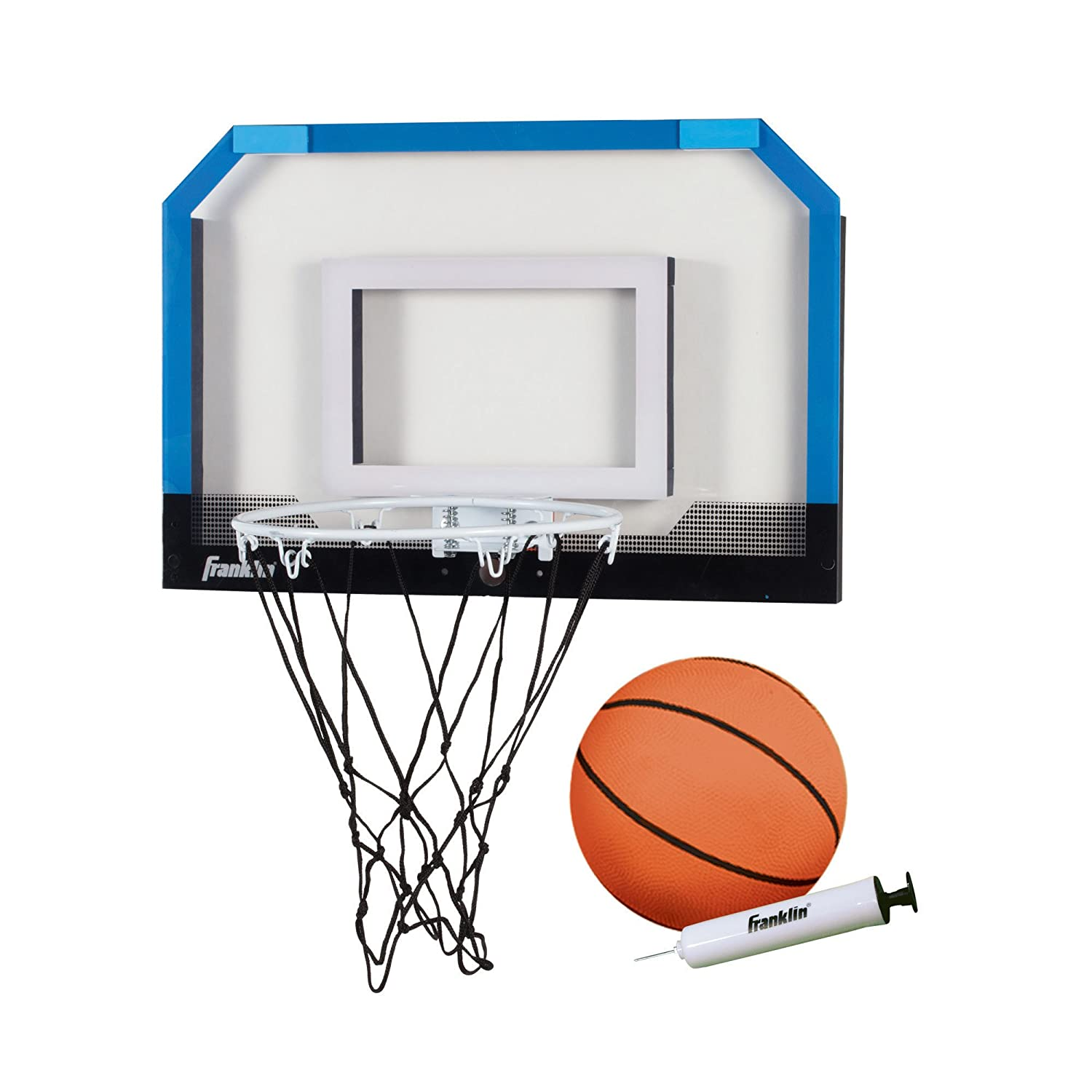 Amazon.com : Franklin Sports Over the Door Mini-Basketball Hoop ...