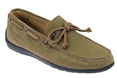 9c27a349add Lumberjack Men s Loafers Grey Size  6