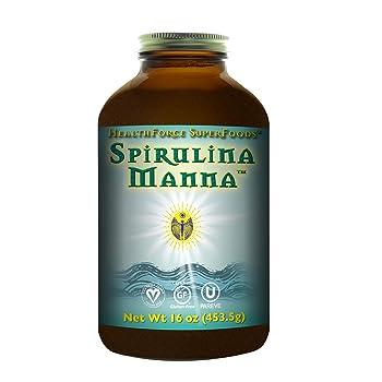 HealthForce SuperFoods Spirulina Manna