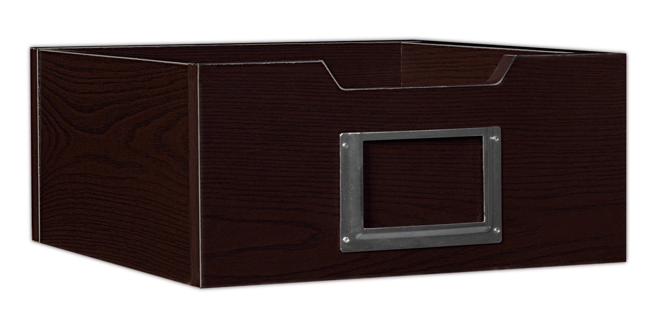 Niche HWTOTE1206TF Cubo Wood Storage Bin, 6''