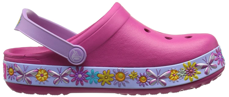 Crocs Girls Cbbttrflyclgk Clogs Pink