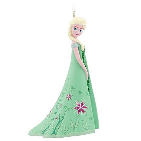 Hallmark Disney Frozen Elsa abito verde ornamento  Amazon.it  Casa e ... 57ef681c117