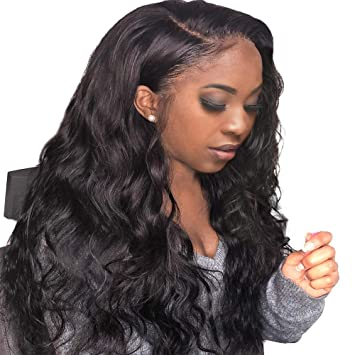 FASHION PLUS Hair Full Lace Wig Human Hair,