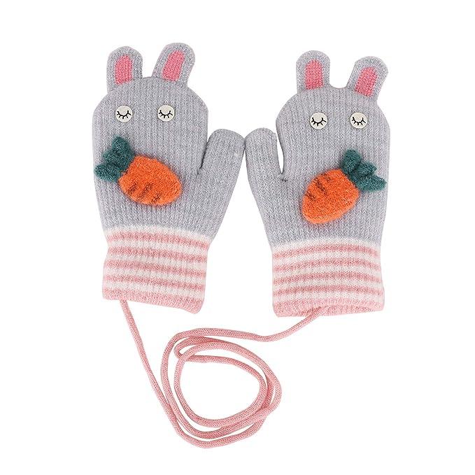 sports shoes half price ever popular Toddler Kids Winter Warm Thick Full Finger Gloves Children Assorted Color  Magic Ski Gloves Mittens