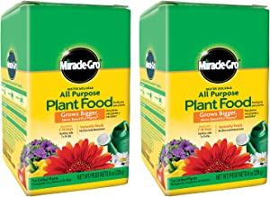 Miracle-Gro VB02196 Water Soluble 8 oz, 2-Pack All Purpose Plant Food.5 lb,