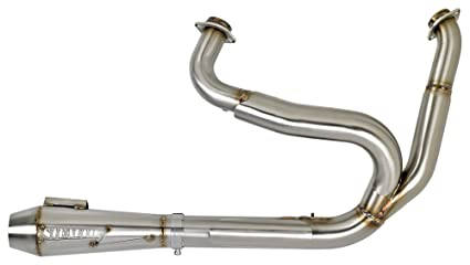 Stealth Pipes SP-DYNA2 Stainless Steel Harley Davidson Dyna Exhaust (06-17)