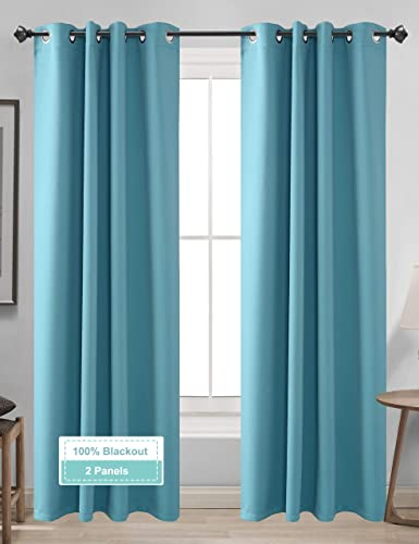 CLB 100 Blackout Curtains 2 Panel