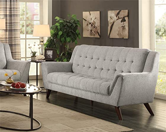 Baby Natalia Upholstered Sofa Dove Grey
