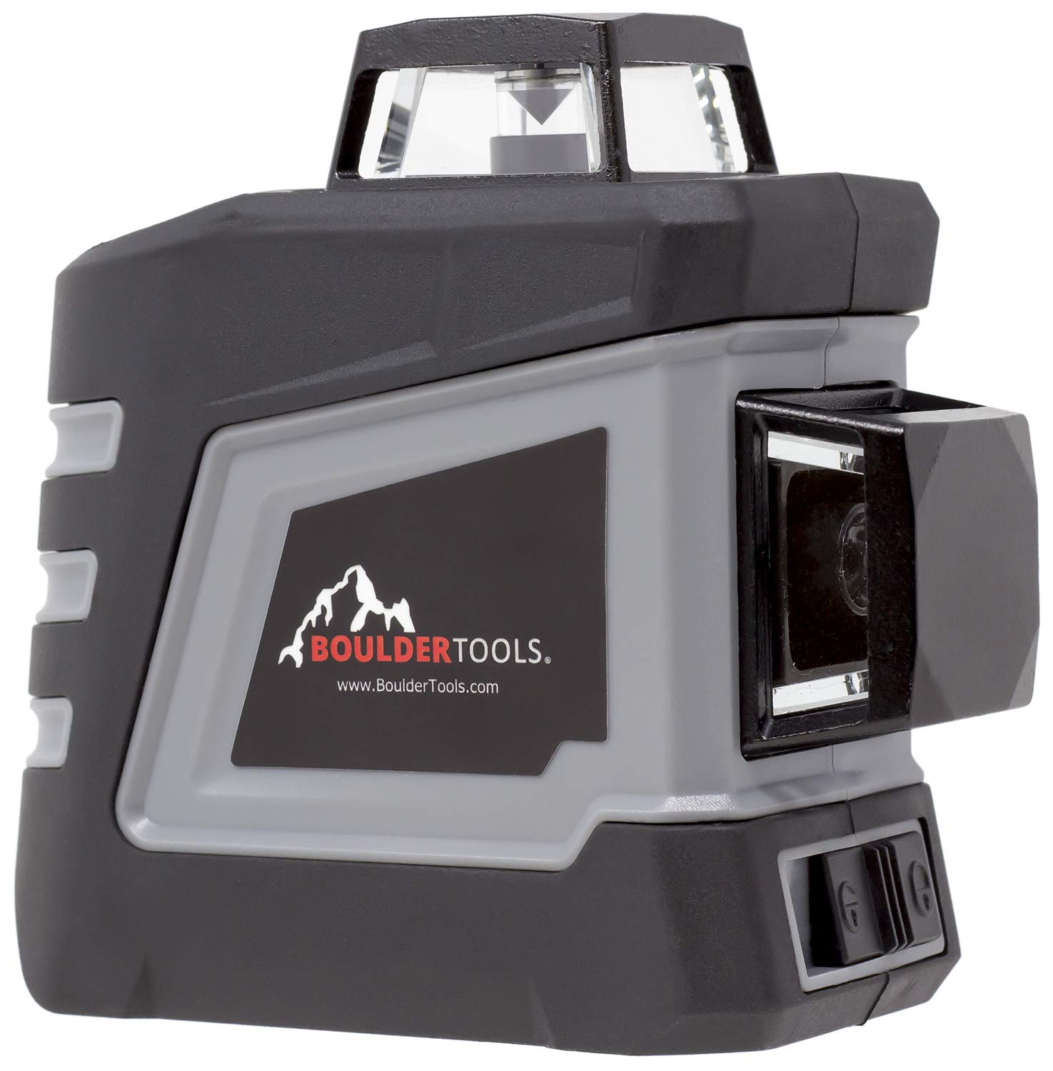 Boulder Tools Laser Level With Tripod, Self-Leveling, Bright, 100 Foot 360-Degree Horizontal And Vertical Cross Line
